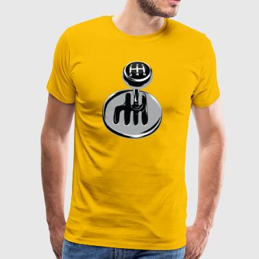 Gear shift - sport automobile - T-shirt Premium Homme