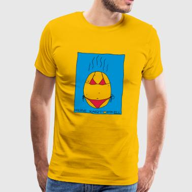 hot, hot, hot potato - Men's Premium T-Shirt