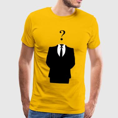 Anonymous - Männer Premium T-Shirt