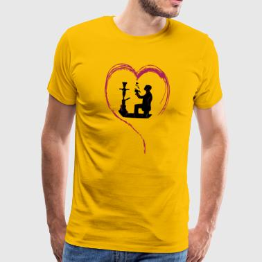 SHISHA LOVE! - Men's Premium T-Shirt