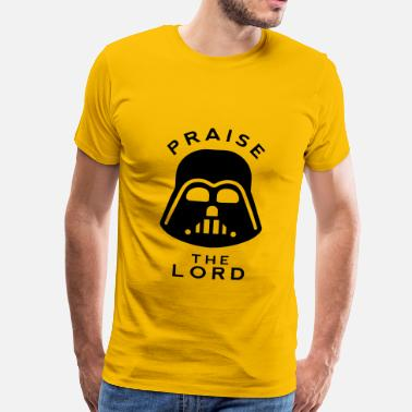 Vader PRAISE THE LORD - Men's Premium T-Shirt