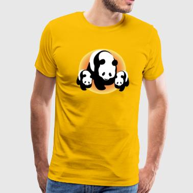 Chinese Pandas - Men's Premium T-Shirt