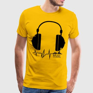 Music - music - Men's Premium T-Shirt