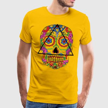 Santa Muerte - Death's head - Men's Premium T-Shirt