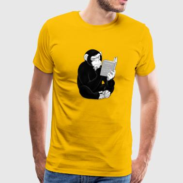 The Origin of Species - Mannen Premium T-shirt