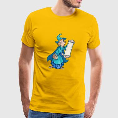 zauberer wizard sorcerer magie magic witch zaubere - Männer Premium T-Shirt
