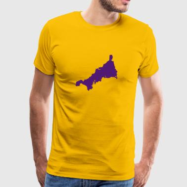 Cornwall Cornwall UK County - Men's Premium T-Shirt