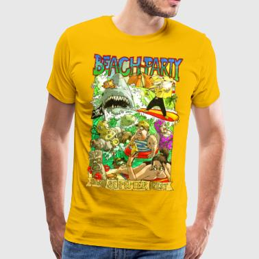 beach-Party - Männer Premium T-Shirt
