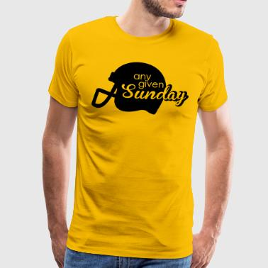 Football Any given Sunday - Männer Premium T-Shirt