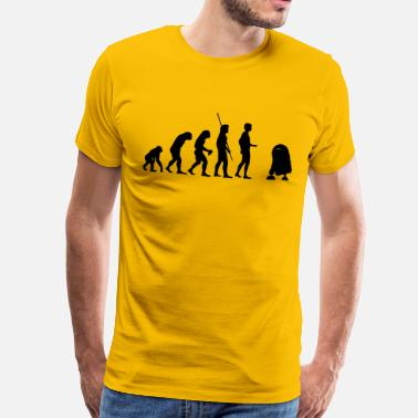 Evolution Roboter Evolution Roboter - Männer Premium T-Shirt