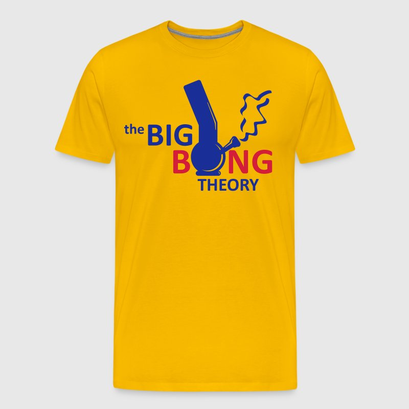 the big bong theory - Camiseta premium hombre