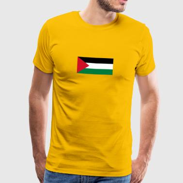 National Flag Of Palestine - Men's Premium T-Shirt