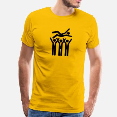 Stag Party Quotes A Stag Party - Men's Premium T-Shirt