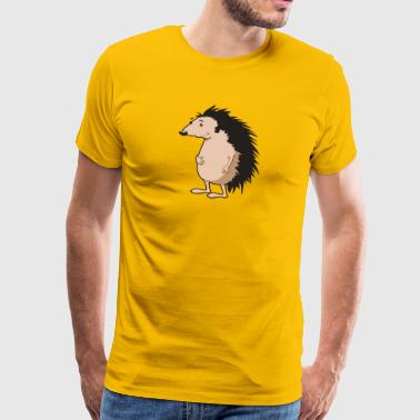 hedgehog igel19 - Men's Premium T-Shirt