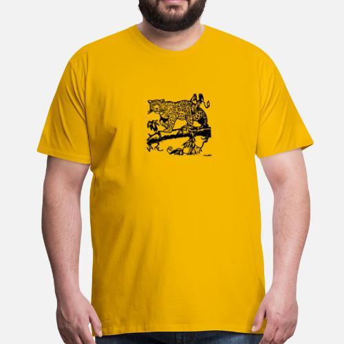 Gepard Kot Lampart Jaguar Ocelot Gepard Wildcat48 Premium Koszulka