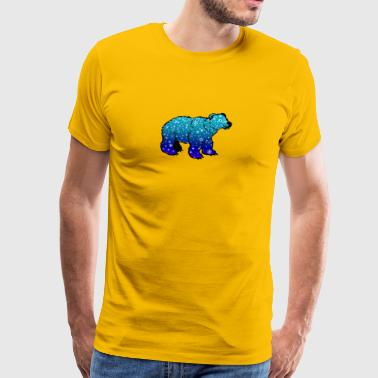 nalle teddy baer grizzly brunbjörn Black Bear - Premium-T-shirt herr