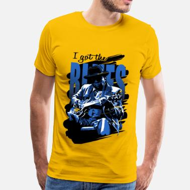 Blues I got the blues - Camiseta premium hombre