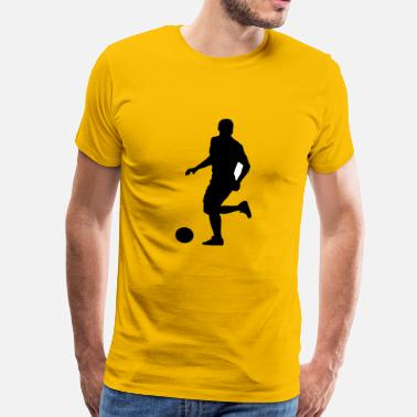 Olympus Soccer football player silhouette 9 - Men's Premium T-Shirt