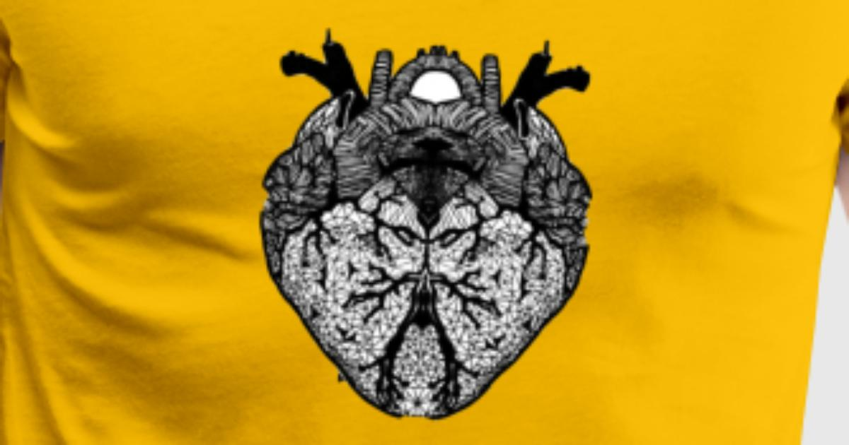 Illusion, Herz, Anatomie von Samysticle | Spreadshirt