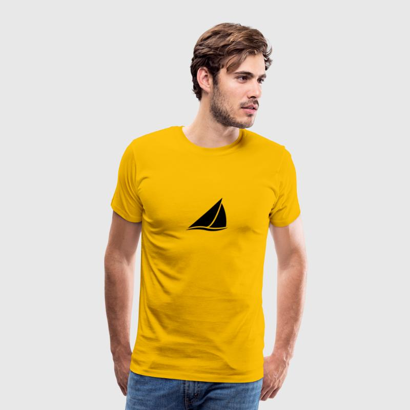 Sailing Boat Logo - Men's Premium T-Shirt