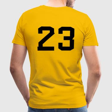 Number 23 - Men's Premium T-Shirt