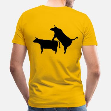 Reproduction bull_reproduction - Men's Premium T-Shirt