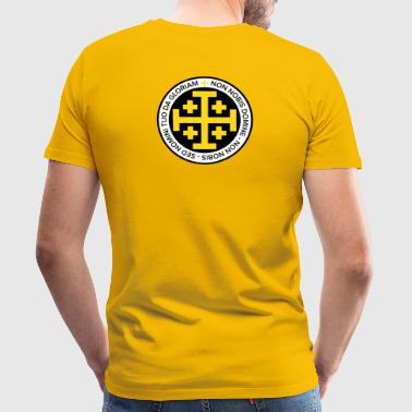 Jerusalem Cross - Men's Premium T-Shirt