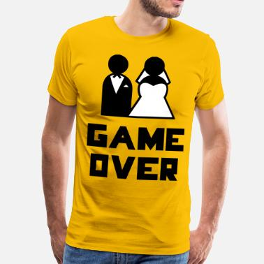Bachelor Game Over - Mannen Premium T-shirt