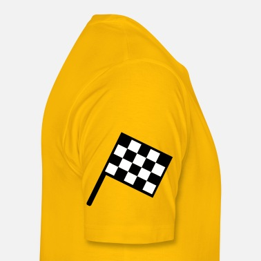 Flags Flag Car Racing flag - car race - Men's Premium T-Shirt