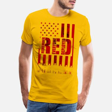 Red Army Remember Everyone Deployed - Men's Premium T-Shirt