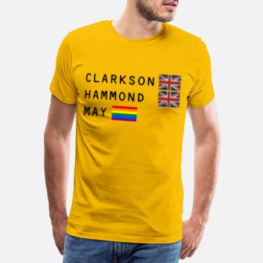 Richard Clarkson Hammond May - Männer Premium T-Shirt