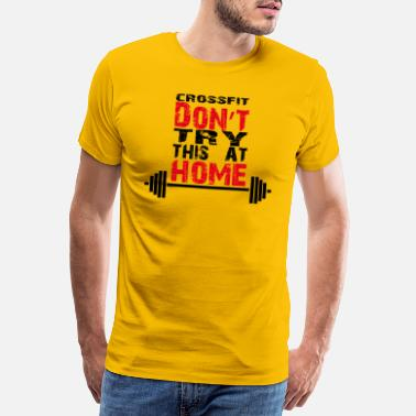 Don't_try_this_at_home - T-shirt premium Homme
