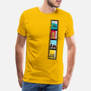 August Cityscapes Hannover Set 04 - Premium T-shirt herr