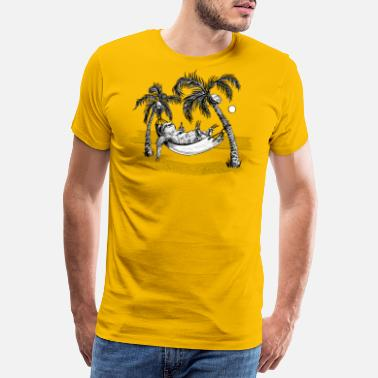 Summer Sloth - Men's Premium T-Shirt