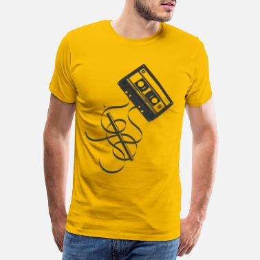 Pencil Compact Cassette - Men's Premium T-Shirt