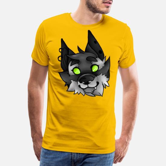 b492ad9c42cab Tête de loup-garou T-shirt premium Homme