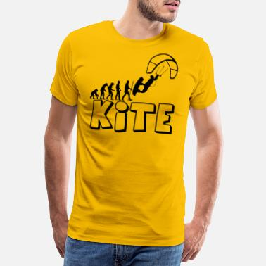 Kiteboarding Kite Kiteboarding Evolution - Männer Premium T-Shirt
