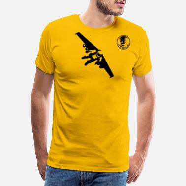Skydive Rocket man - Men's Premium T-Shirt