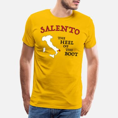 Salento SALENTO HEEL OF THE BOOT - Maglietta premium uomo