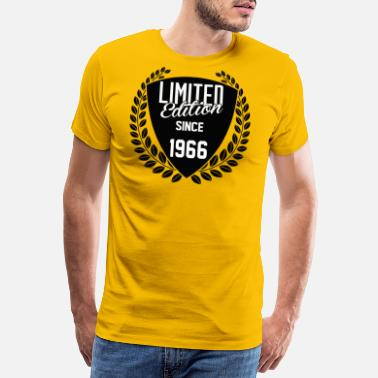 Made In 1966 Limited Edition Since 1966 - Men's Premium T-Shirt
