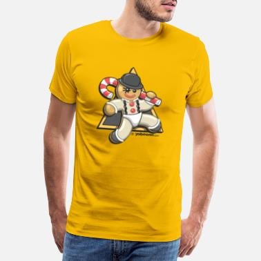 Food Collection Christmas Droogie - Mannen premium T-shirt