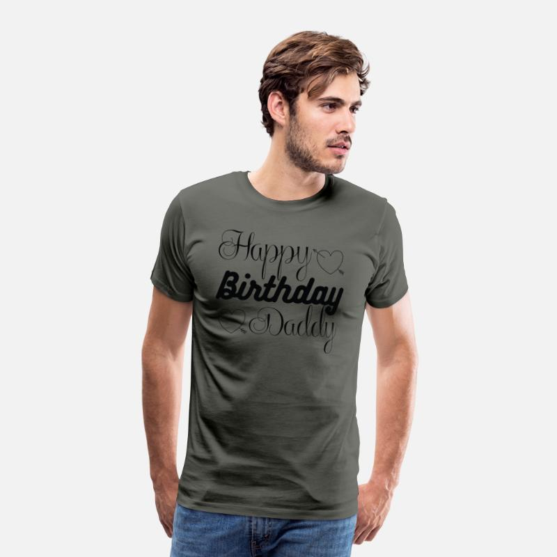Happy Birthday Daddy 1 01 Manner Premium T Shirt