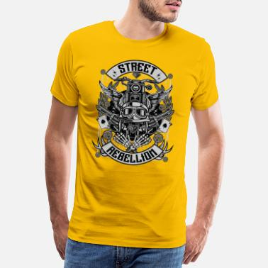 Bikes And Cars Collection Motorrad Club Biker Geschenk - Männer Premium T-Shirt