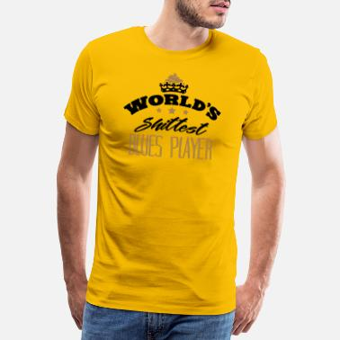 Groove worlds shittest blues player - Men's Premium T-Shirt
