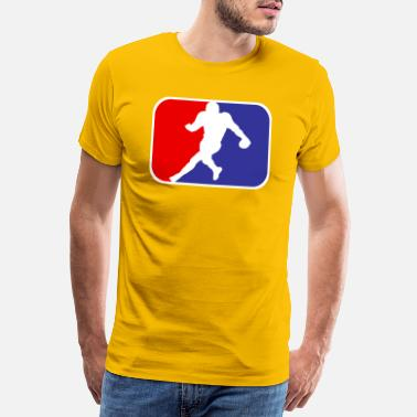 Halbzeit American Football - Quarterback Tackle Field Goal - Männer Premium T-Shirt