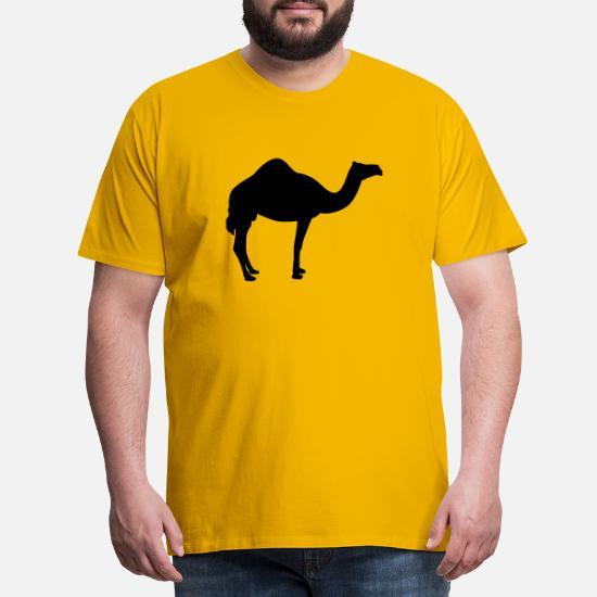kamel Premium T skjorte for menn | Spreadshirt