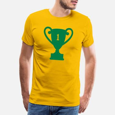 Award trophy award - Men's Premium T-Shirt
