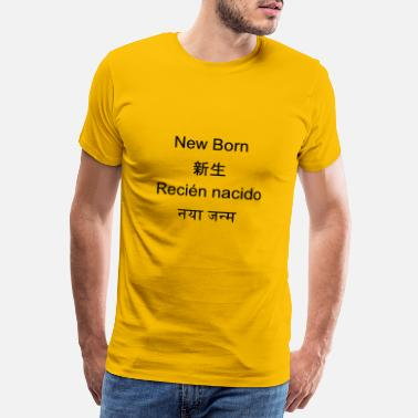 Hindi New Born - Men's Premium T-Shirt