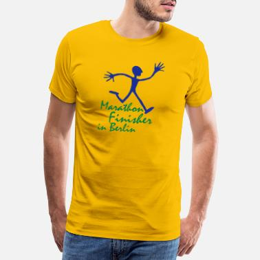 Discipline running_man_berlin - Men's Premium T-Shirt