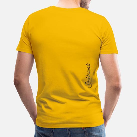Gud jag vill inte vara änglar Premium T shirt herr | Spreadshirt